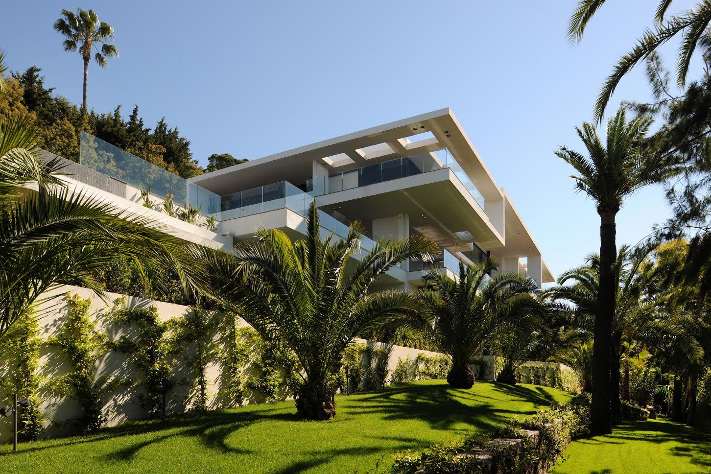 Fpgoux architecte for Interieur sud cannes
